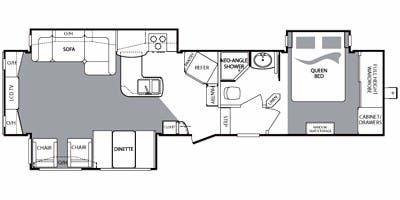 full specs for 2010 keystone cougar 327res rvs. Black Bedroom Furniture Sets. Home Design Ideas