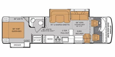 Full Specs For 2014 Thor Motor Coach Palazzo 33 1 Rvs