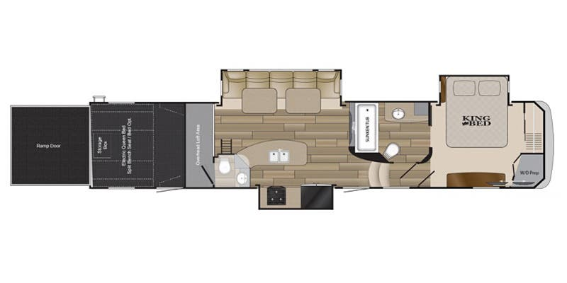 full specs for 2015 heartland cyclone cy 4100 king rvs. Black Bedroom Furniture Sets. Home Design Ideas