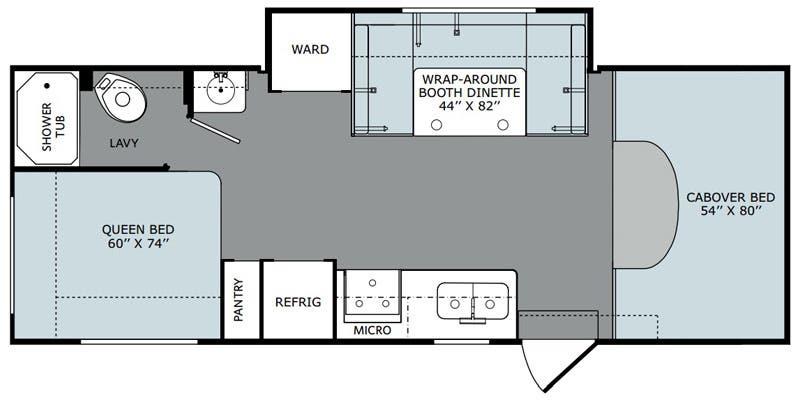 Augusta Rv Floor Plans: Full Specs For 2016 Holiday Rambler Augusta LX 25G RVs