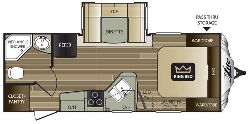 Full Specs For 2017 Keystone Cougar XLite 21RBS RVs