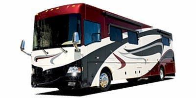 Find Specs for 2008 Country Coach - Inspire <br>Floorplan: Genoa (Triple Slide) (Class A)