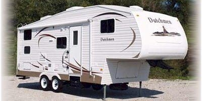 Find Specs for 2008 Dutchmen - M5 <br>Floorplan: 24L (Fifth Wheel)