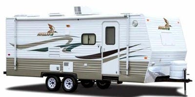 Find Specs for 2008 Fleetwood - Mallard <br>Floorplan: 23RKS (Travel Trailer)