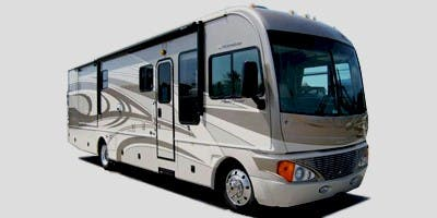 Find Specs for 2008 Fleetwood - Pace Arrow <br>Floorplan: 35A (Class A)