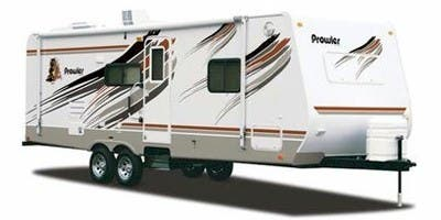 Find Specs for 2008 Fleetwood Prowler Travel Trailer RVs