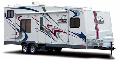 Find Specs for 2008 Fleetwood Redline Hyperlite Toy Hauler RVs
