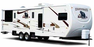 Find Specs for 2008 Forest River Cedar Creek Silverback Travel Trailer RVs