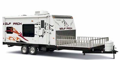 Find Specs for 2008 Forest River Cherokee Wolf Pack Toy Hauler RVs