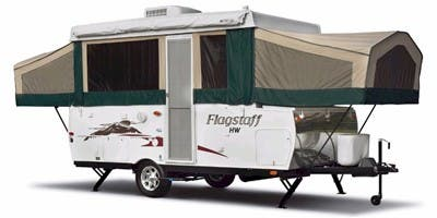 Find Specs for 2008 Forest River - Flagstaff <br>Floorplan: HW25ST (Expandable Trailer)