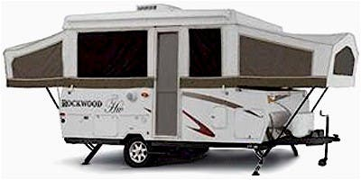 Find Specs for 2008 Forest River Rockwood Expandable Trailer RVs