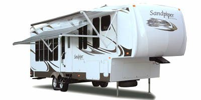 Find Specs for 2008 Forest River - Sandpiper <br>Floorplan: 345QB (Fifth Wheel)