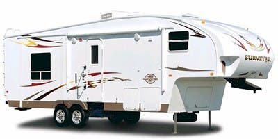 Find Specs for 2009 Forest River - Surveyor <br>Floorplan: SVF-241RK (Fifth Wheel)