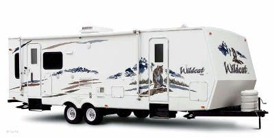 Find Specs for 2009 Forest River Wildcat Travel Trailer RVs