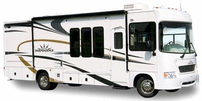 Find Specs for 2008 Gulf Stream - Independence <br>Floorplan: 8327 (Class A)