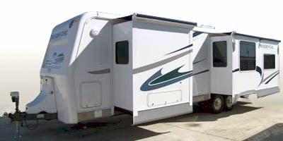 Find Specs for 2008 Holiday Rambler Presidential Suite RVs