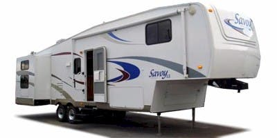 Find Specs for 2008 Holiday Rambler Savoy LX Fifth Wheel RVs