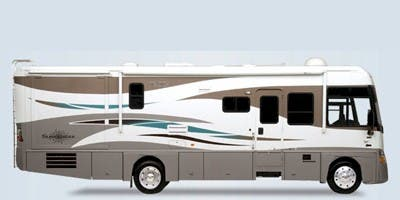 Find Specs for 2008 Itasca - Suncruiser <br>Floorplan: 35L (Class A)