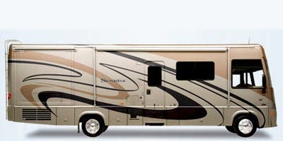 Find Specs for 2008 Itasca - Sunrise <br>Floorplan: 33V (Class A)