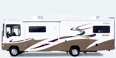 Find Specs for 2008 Itasca - Sunstar <br>Floorplan: 30B (Class A)