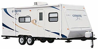Find Specs for 2009 K-Z - Coyote <br>Floorplan: 16C (Travel Trailer)