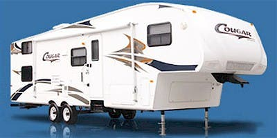 Find Specs for 2008 Keystone Cougar Toy Hauler RVs
