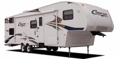 Find Specs for Keystone Cougar Fifth Wheel RVs