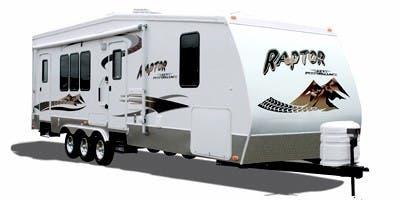 Find Specs for 2008 Keystone Raptor Toy Hauler RVs