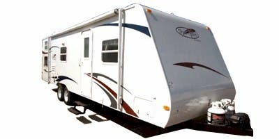Find Specs for 2009 R-Vision - Trail-Sport <br>Floorplan: TS21RBH (Travel Trailer)