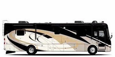 Find Specs for 2008 Tiffin - Allegro Bus <br>Floorplan: 36 QSP (Class A)