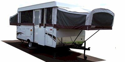 Find Specs for 2009 Coleman - Highlander <br>Floorplan: Niagara (Expandable Trailer)