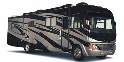Find Specs for 2010 Fleetwood - Pace Arrow <br>Floorplan: 38P (Class A)