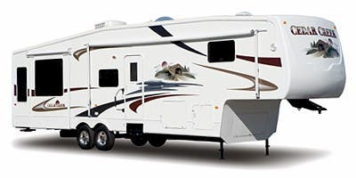 Find Specs for 2009 Forest River Cedar Creek Fifth Wheel RVs