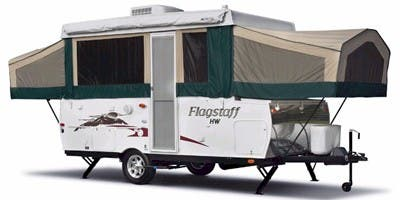 Find Specs for 2012 Forest River - Flagstaff <br>Floorplan: HW27KS (Expandable Trailer)