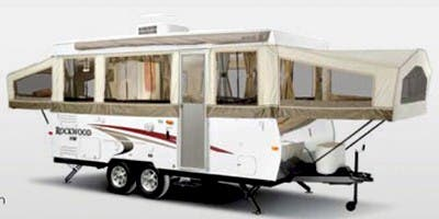 Find Specs for 2009 Forest River - Rockwood <br>Floorplan: HW256 (Expandable Trailer)