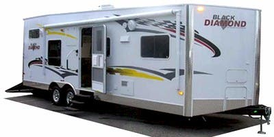 Find Specs for 2009 Holiday Rambler Black Diamond Toy Hauler RVs