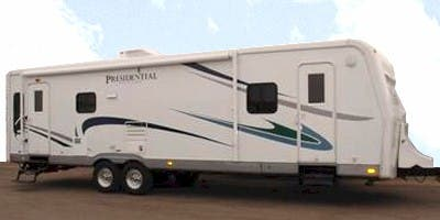 Find Specs for 2009 Holiday Rambler Presidential Suite Travel Trailer RVs