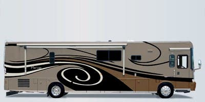 Find Specs for 2009 Itasca - Horizon <br>Floorplan: 40WD (Class A)