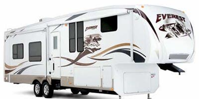 Find Specs for 2009 Keystone Everest Fifth Wheel RVs