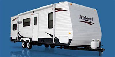 Find Specs for 2009 Keystone Hideout Toy Hauler RVs