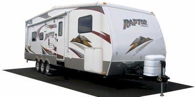 Find Specs for 2009 Keystone Raptor Toy Hauler RVs