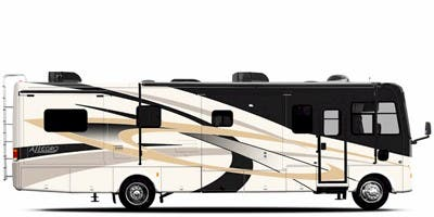 Find Specs for 2009 Tiffin - Allegro <br>Floorplan: 32 LA (Class A)