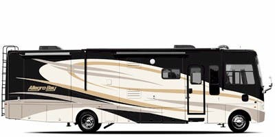 Find Specs for 2009 Tiffin - Allegro Bay <br>Floorplan: 37 QDB (Class A)