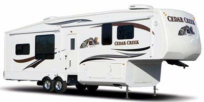 Find Specs for 2011 Forest River Cedar Creek Fifth Wheel RVs