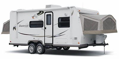 Find Specs for 2010 Forest River Flagstaff Shamrock Toy Hauler RVs