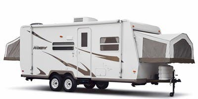 Find Specs for 2010 Forest River - Rockwood Roo <br>Floorplan: 233S (Travel Trailer)