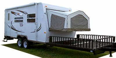 Find Specs for 2010 Forest River Rockwood Roo Toy Hauler RVs
