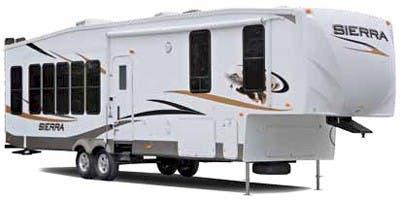 Find Specs for 2010 Forest River Sierra Fifth Wheel RVs