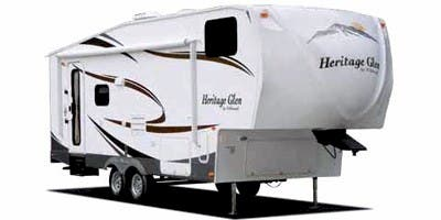 Find Specs for 2010 Forest River Wildwood Heritage Glen Fifth Wheel RVs