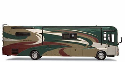Find Specs for 2010 Itasca - Meridian V Class <br>Floorplan: 39N (Class A)